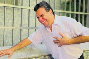 у мужчины сердечный приступ