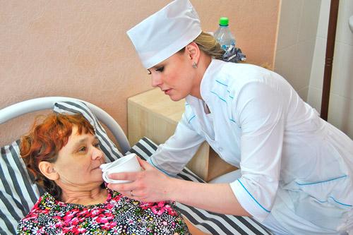Уход медицинской сестрой