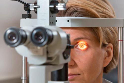 Офтальмоскопия глаза