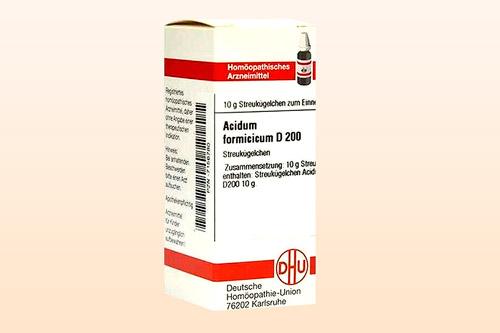 Гомеопатическое средство Ацидум ацетикум