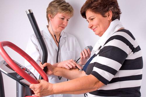 Контроль давления при физических нагрузках
