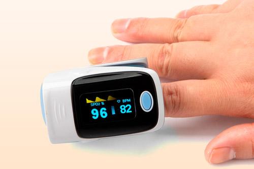 Электронный тонометр крепящиеся к пальцу