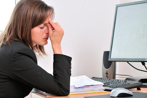 Головная боль и утомляемость