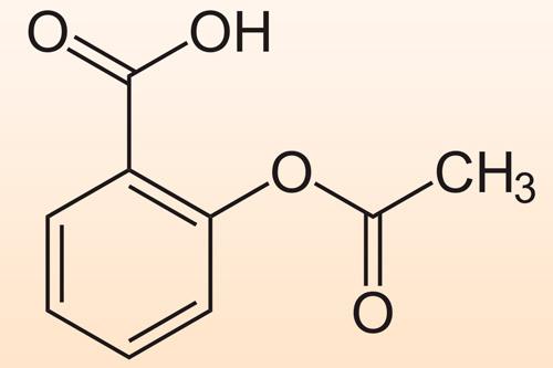Формула ацетилсалициловой кислоты