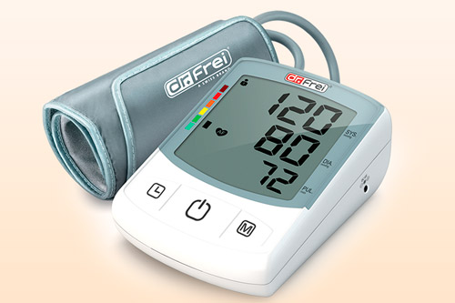 Тонометр с показателями давления