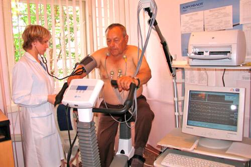 Обследование у врача-кардиолога