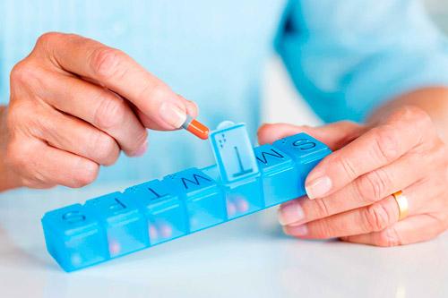 Систематический прием лекарств