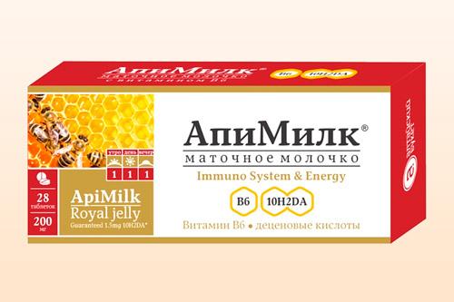 Пчелиное молоко в форме таблеток
