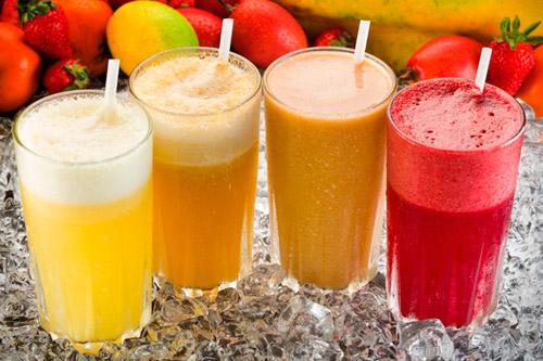 Сок из фруктов и овощей