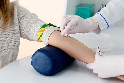 анализ крови с вены