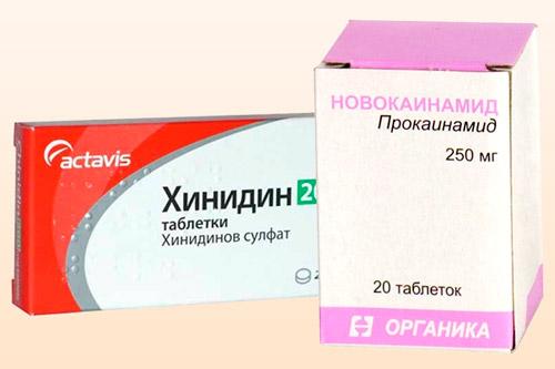 Препараты для блокировки натриевых каналов