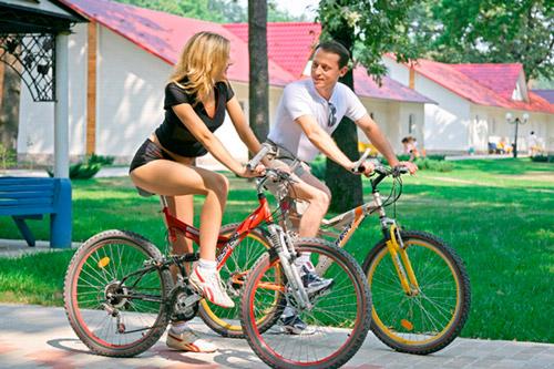 Велосипедные прогулки