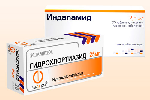 Препараты диуретического действия