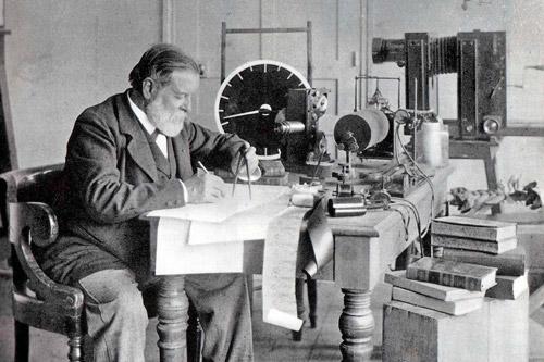Французский физиолог и изобретатель Этьен-Жюль Маре