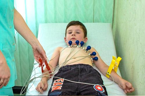 Электрокардиография ребенка