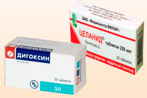 Дигоксин и Целанид