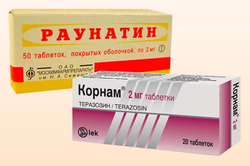 Таблетки Корнам