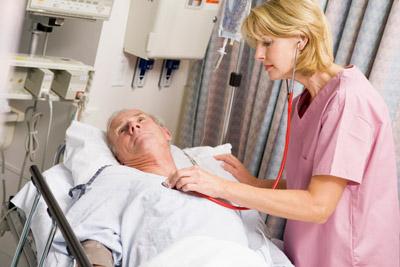 Больной госпитализирован