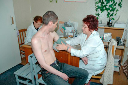 Кардиолог принимает пациента