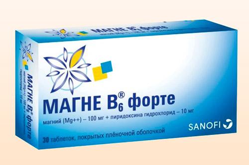 Препарат Магне B6
