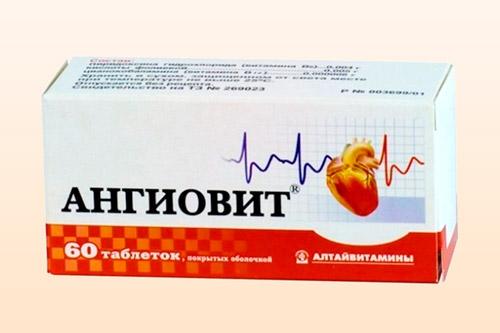 Препарат Ангиовит