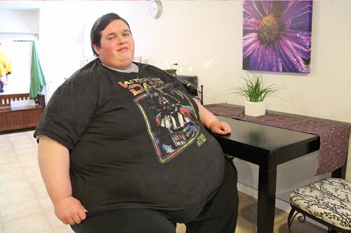 Толстый человек
