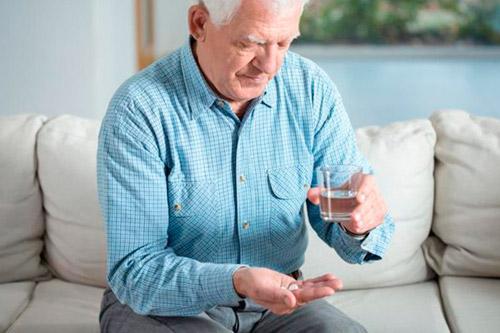 Прием назначенных лекарств