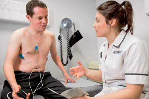 На обследовании у кардиолога