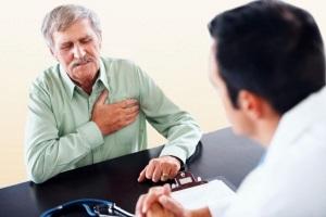 Cжимающая боль в груди - признак сердечного приступа