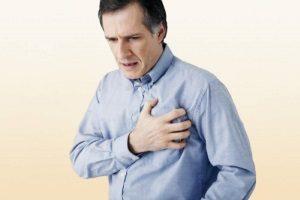 Резкая боли в груди