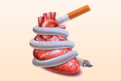 Болит сердце от курения: опасные симптомы и последствия