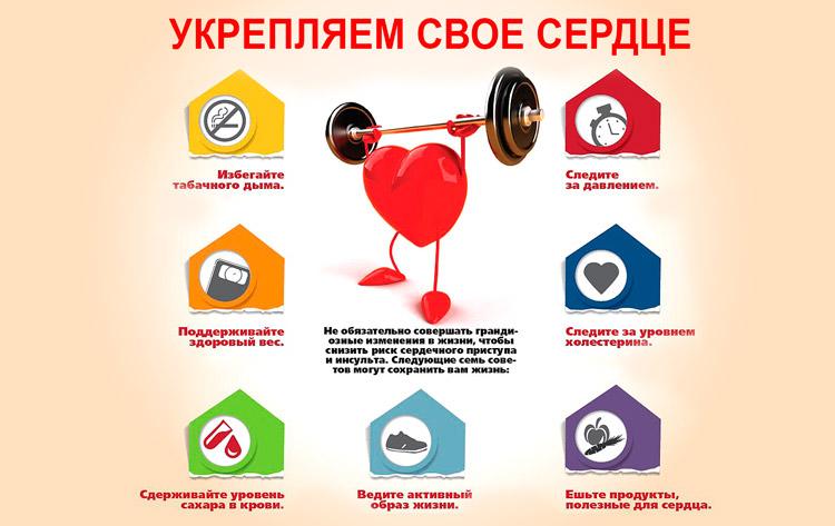 Правила здорового сердца