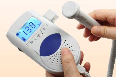 прибор для прослушивания сердцебиения плода Фетальный допплер
