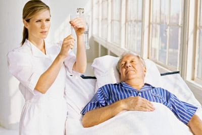 Лечение больного инфарктом в стационаре