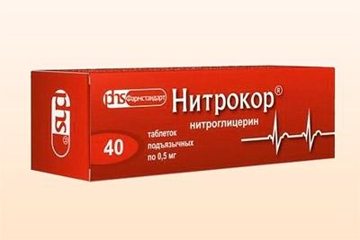 Препарат Нитрокор