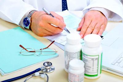 Врач назначает препараты