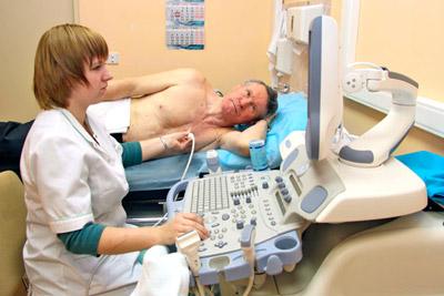 Проведение эхокардиографии