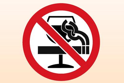 Не курить и пить алкоголь перед ЭКГ