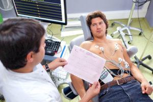 Диагностики экстасистолии с помощью кардиограммы