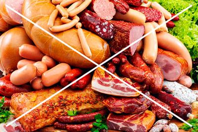 Колбасные изделия вредны при инфаркте