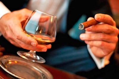 Употребление алкоголя и табака