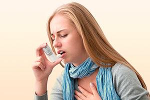 Затрудненное дыхание и одышка при ВСД
