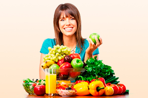 Овощи и фрукты при патологии сосудов