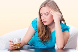 Употребление алкоголя при ВСД