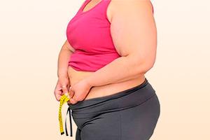 Лишний вес как причина недуга