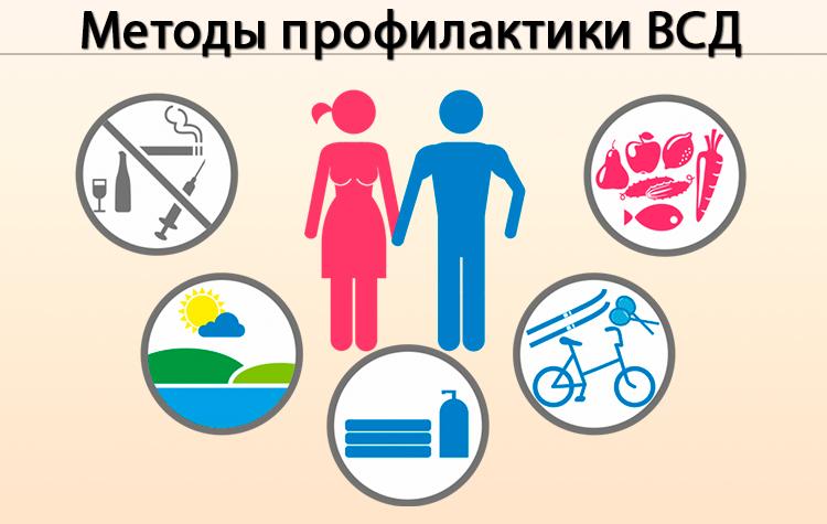 Методы профилактики ВСД