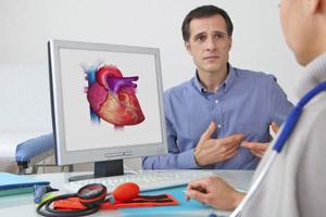 Прием у врача кардиолога