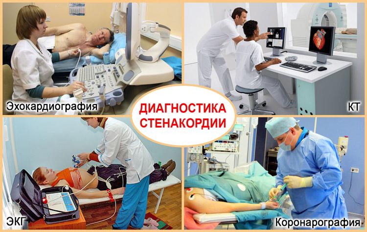 Аппаратная диагностика стенокардии напряжения