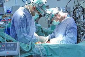 Проведение операции на открытом сердце