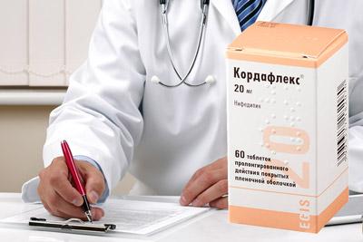 Особенности применения препарата «Кордафлекс»